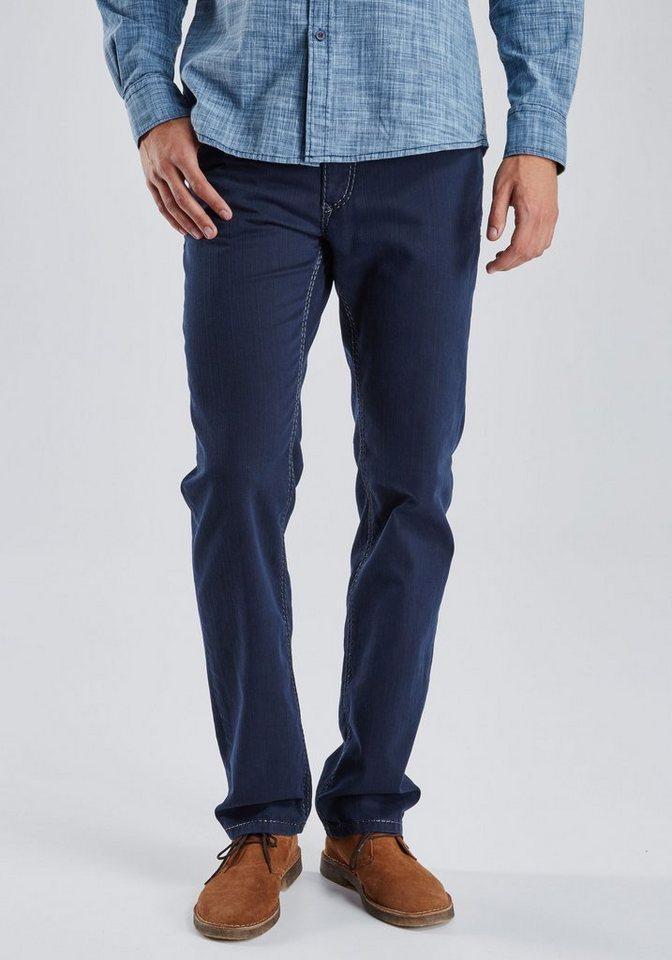 PIONEER Handcrafted Jeans »RANDO« in dunkelblau