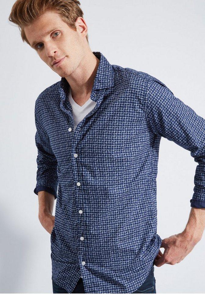 Otto Kern Hemd in blau