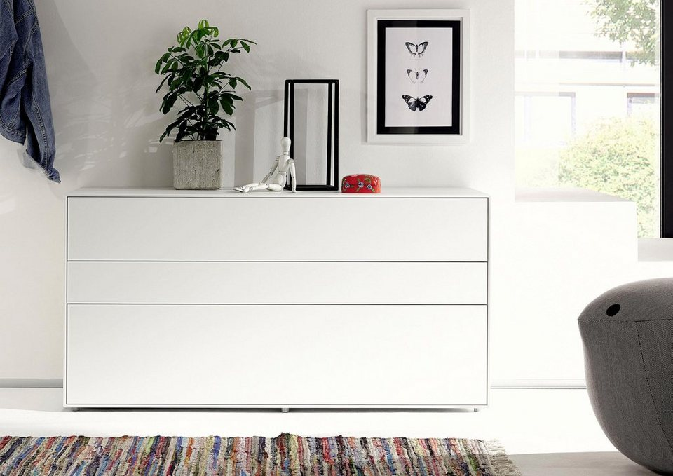 now by h lsta sideboard now easy breite 128 cm in hochwertiger verarbeitung online kaufen. Black Bedroom Furniture Sets. Home Design Ideas