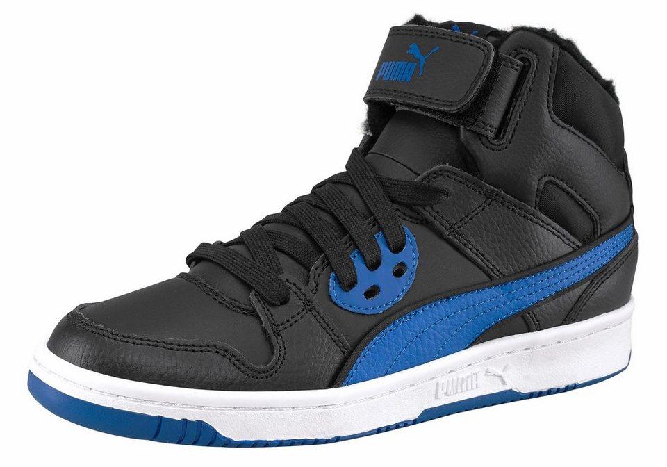 PUMA »Rebound Street WTR Junior« Sneaker in schwarz-blau