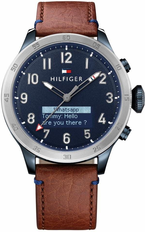 Tommy Hilfiger Quarzuhr »Casual Sport, 1791300« in braun