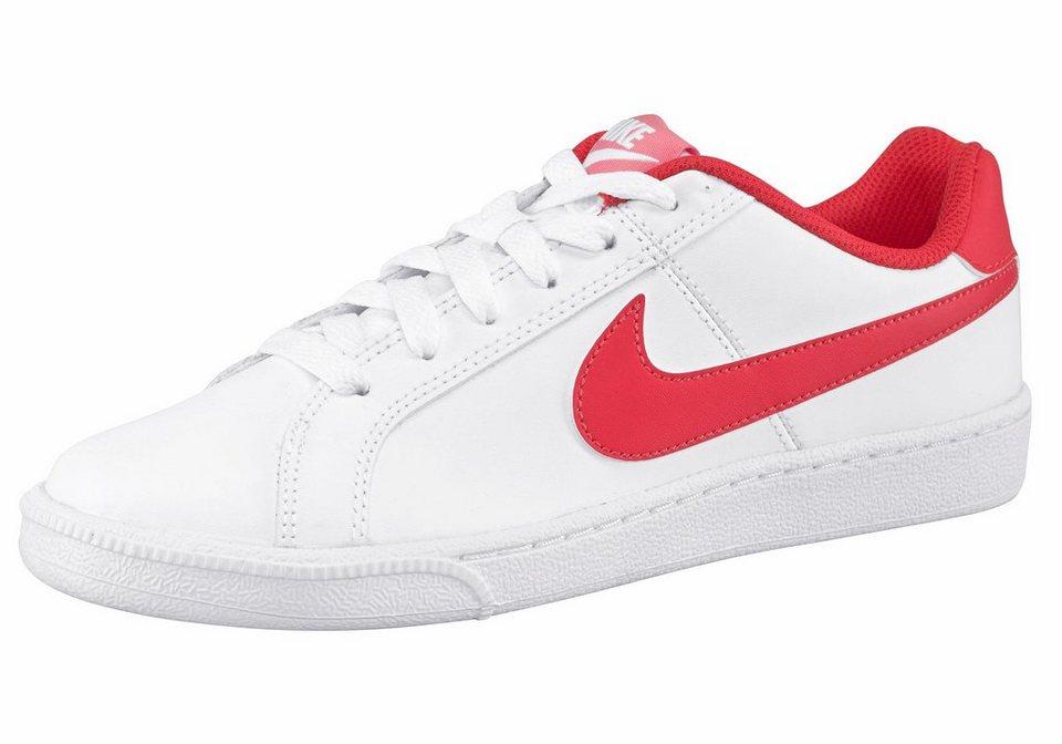 Nike »Court Royale Wmns« Sneaker in weiß-orange
