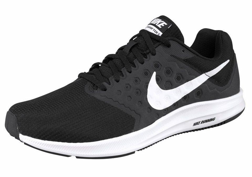 Nike »Downshifter 7 M« Laufschuh in schwarz-weiß