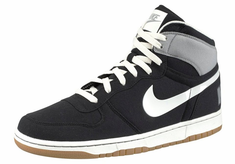 Nike Sneaker »Big Nike High Lux« in schwarz-grau