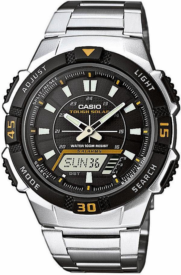 Casio Collection Chronograph »AQ-S800WD-1EVEF«, mit abschaltbaren Tastentönen