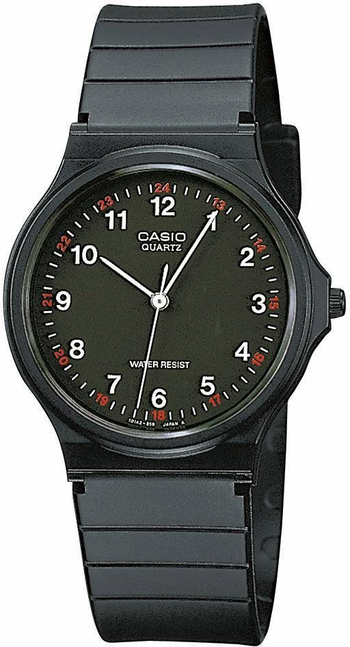 Casio Collection Quarzuhr »MQ-24-1BLLGF« in schwarz