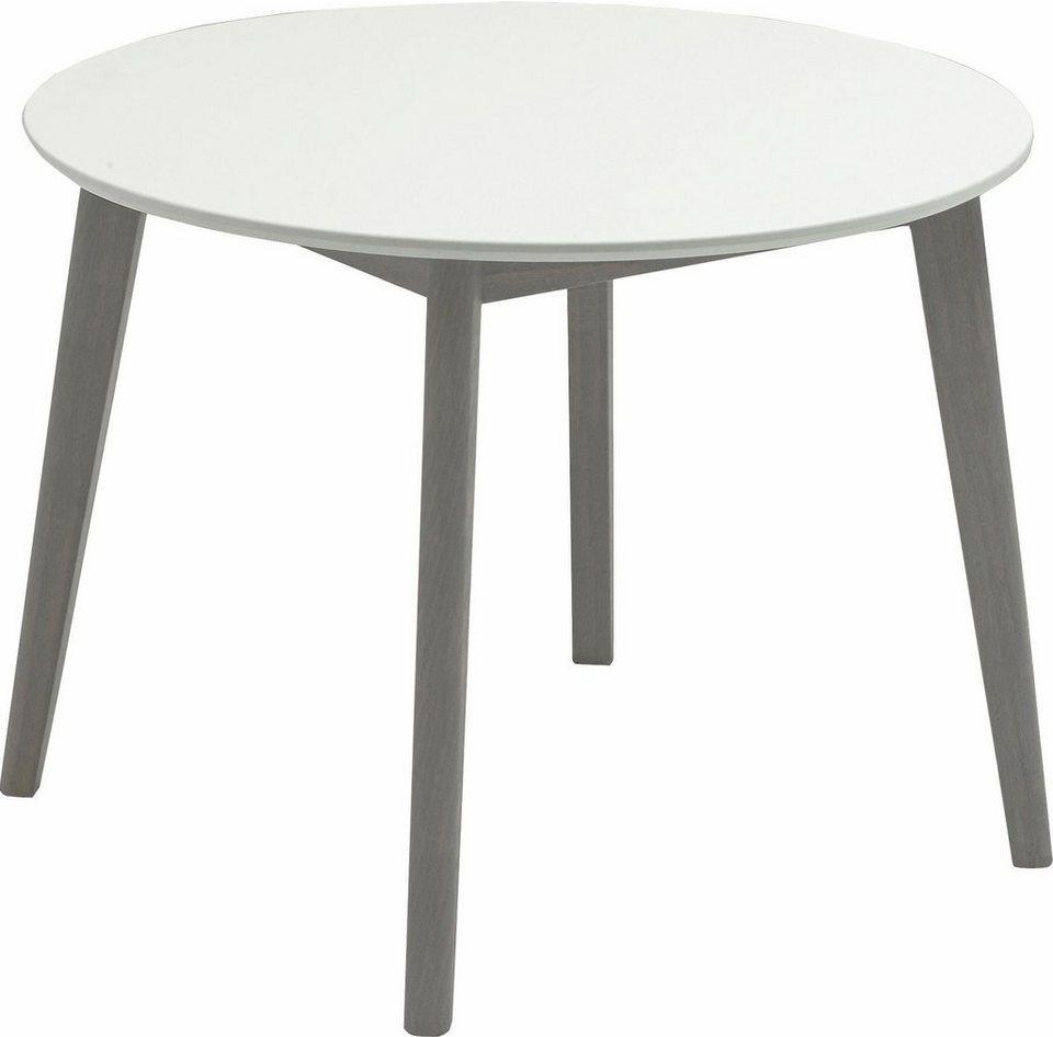Niehoff Sitzmobel Esstisch Soho Gestell In Buche Grau Oder