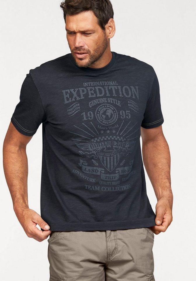 Man's World T-Shirt in nachtblau