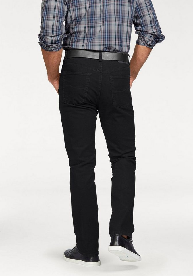 Pioneer Authentic Jeans Stretch-Jeans »Ron« Straight Fit in black