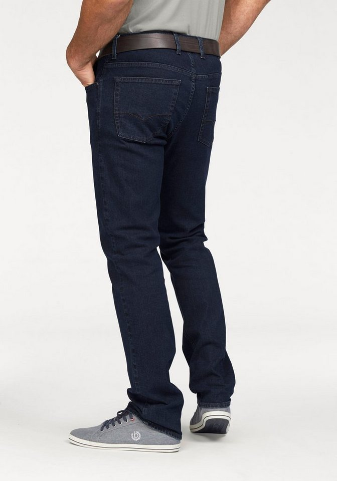 Pionier Stretch-Jeans »Marc« in dark-stone