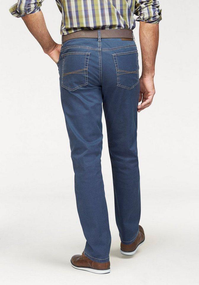 Man's World Stretch-Jeans in sommerlich leichter Qualität in blau