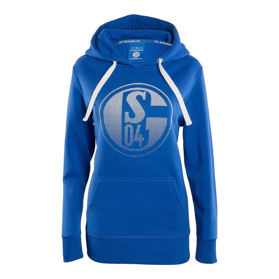 FC Schalke 04 Kapuzen Sweat »Signet Damen« in blau