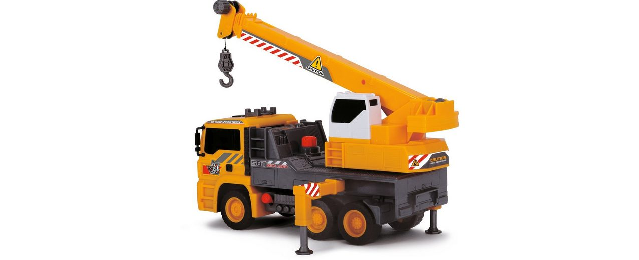 Dickie Spielzeug LKW, »Air Pump Mobile Crane«
