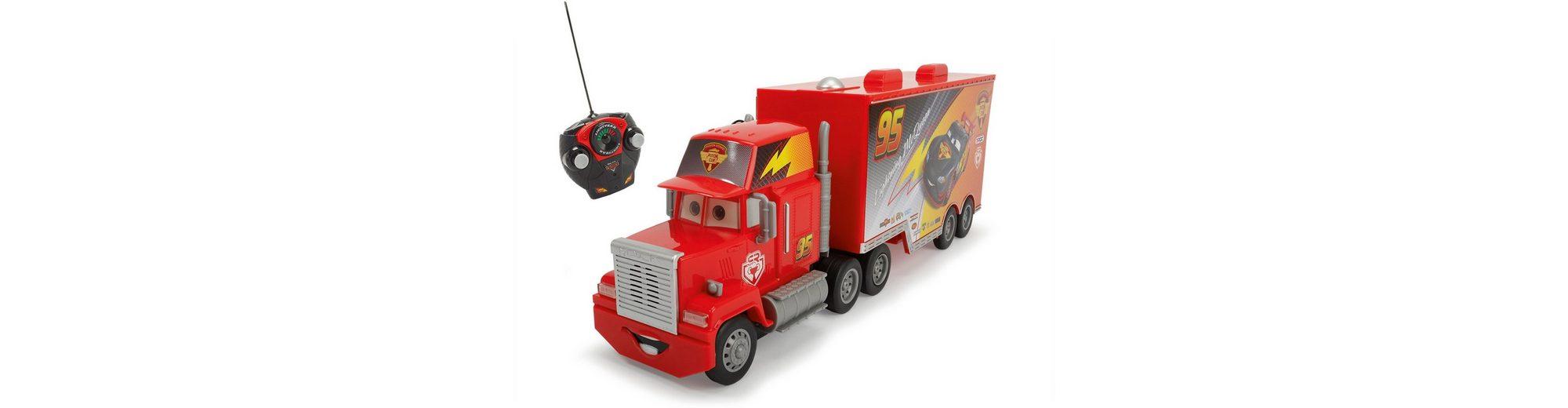 Dickie RC Truck mit Licht und Sound, »Disney Pixar Cars, RC Carbon Turbo Mack Truck 27 MHz 1:24«