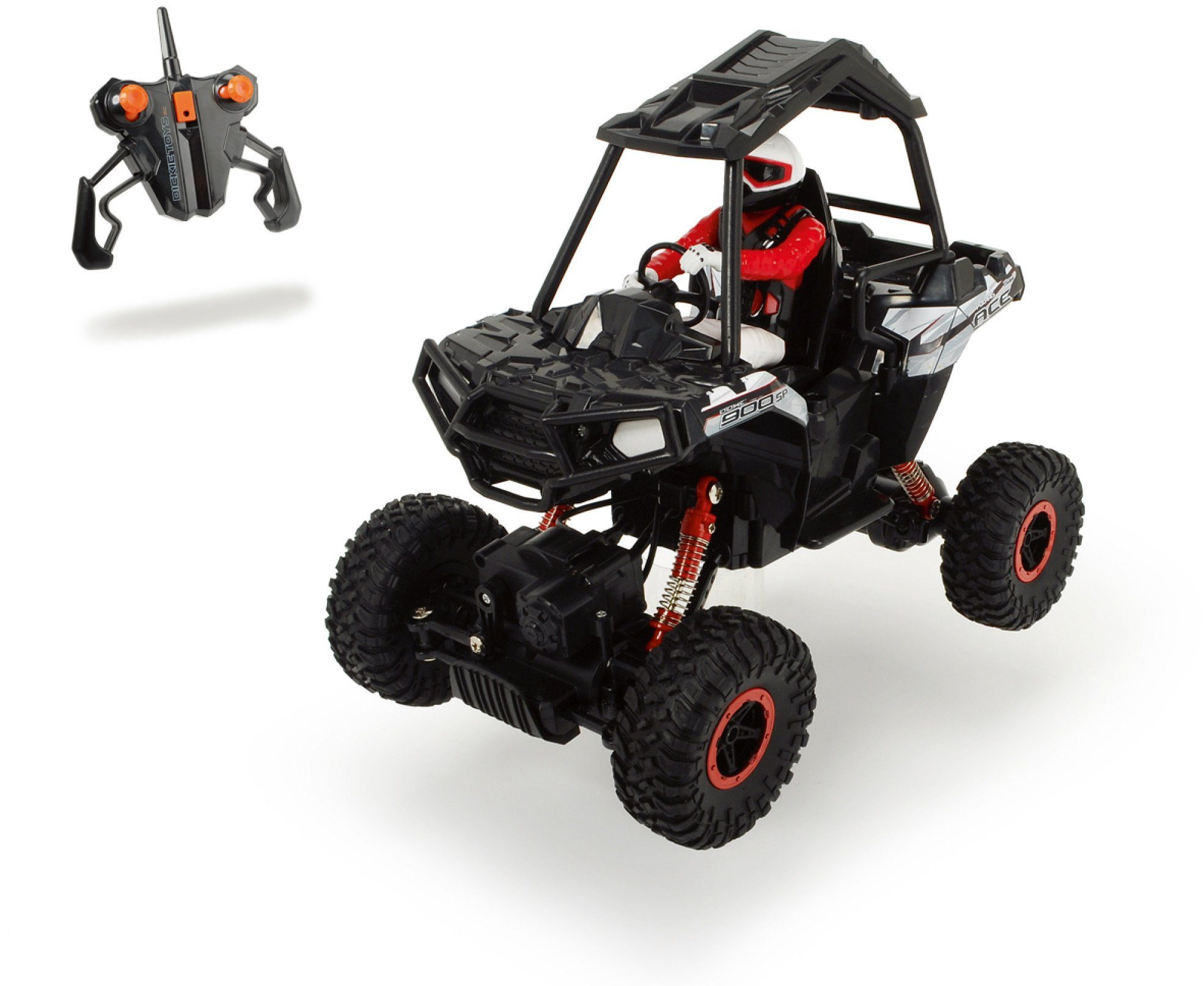 Dickie Toys RC Komplett Set, »Polaris ACE Sportsman Rock Crawler 2,4 GHz 1:8«