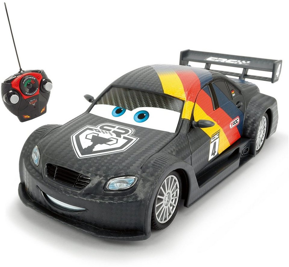 Dickie Toys RC Auto, »Disney Pixar Cars, RC Carbon Turbo Racer Max Schnell 27 MHz 1:24«