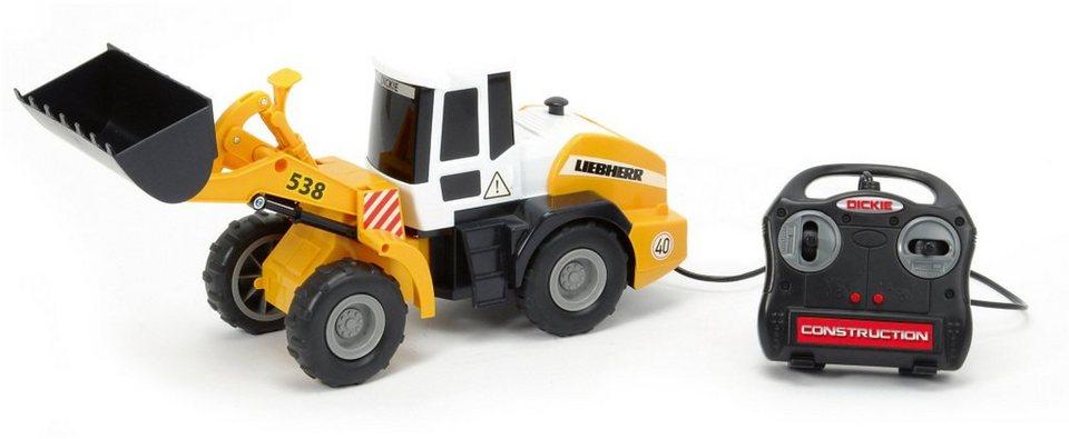 Dickie Toys Kabelgesteuerter Radlader, »Wheel Loader« in gelb
