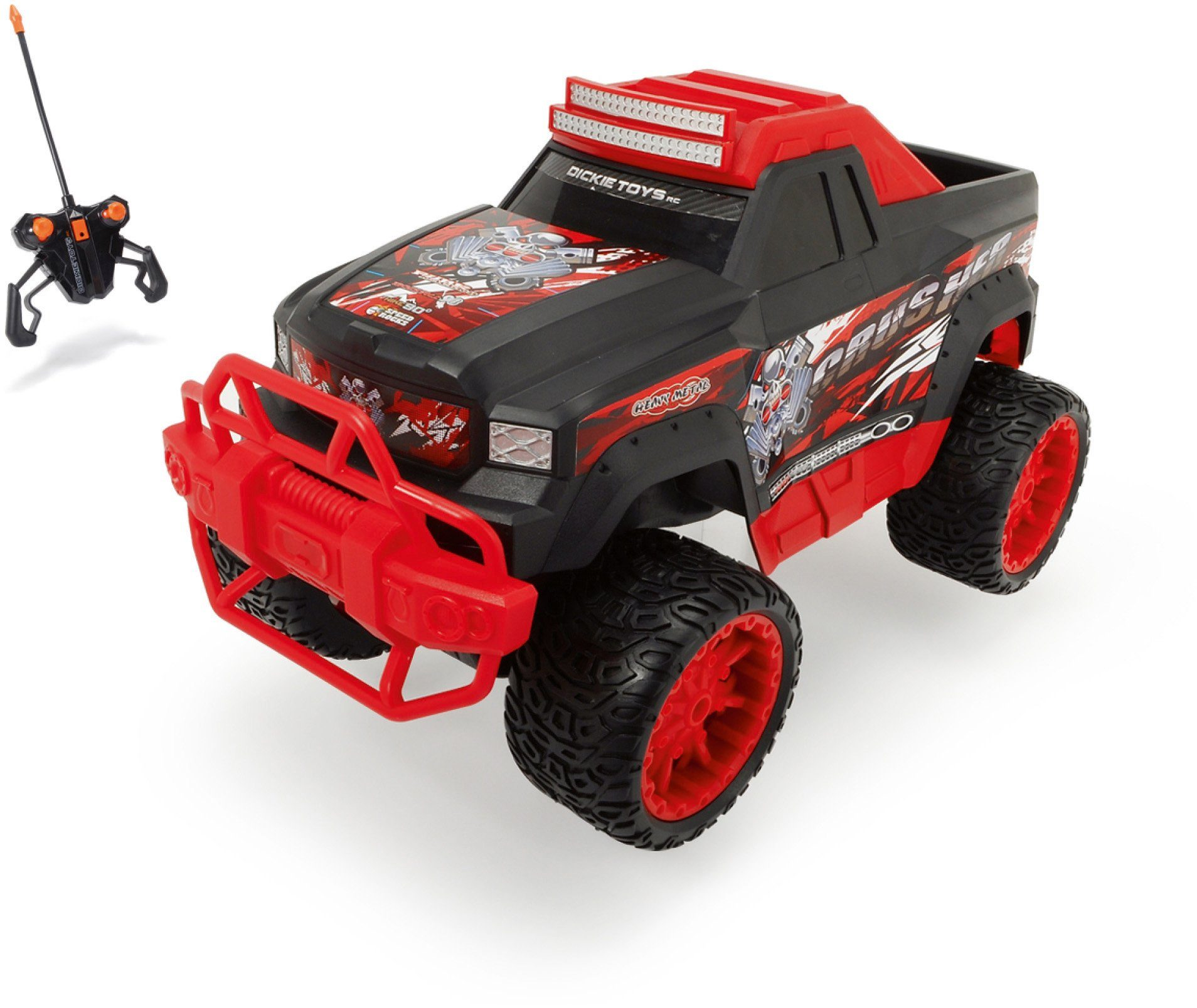 Dickie Toys RC Komplett Set, »Bone Crusher 27 MHz 1:12«