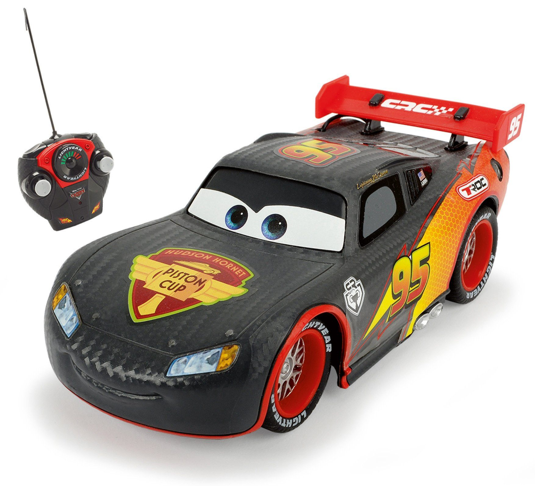 Dickie RC Auto, »Disney Pixar Cars, RC Carbon Turbo Racer Lightning McQueen 40 MHz 1:24«