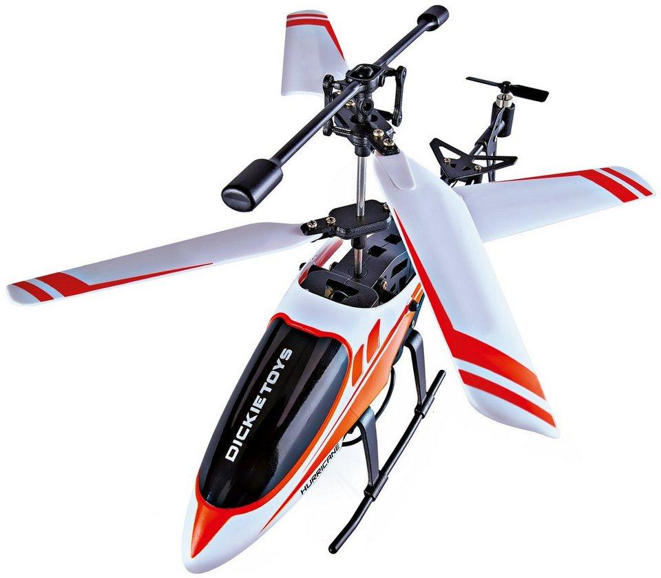 Dickie Toys RC Hubschrauber, »DT-H2 Heli Hurricane«
