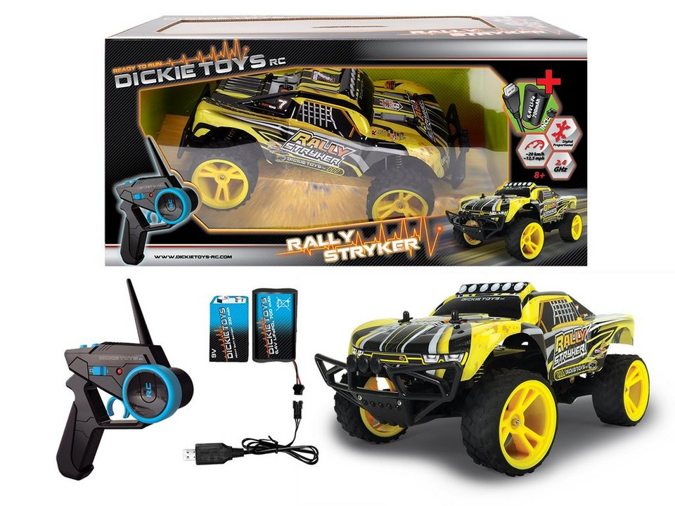 Dickie RC Komplett Set, »Rally Stryker 2,4 GHz 1:12«