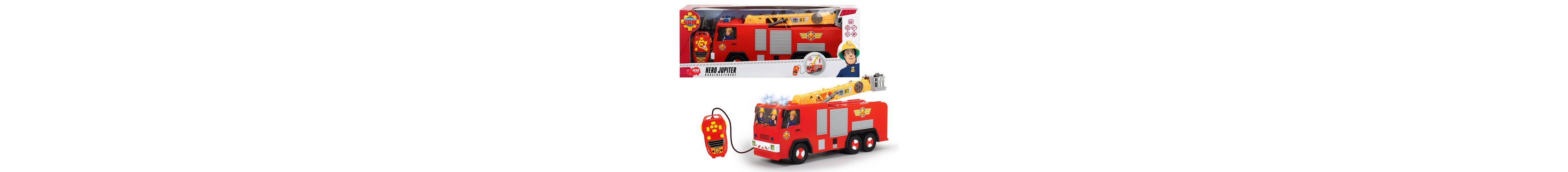 Dickie Kabelgesteuertes Feuerwehrauto mit Wasserspritze, »Feuerwehrmann Sam, Hero Jupiter«