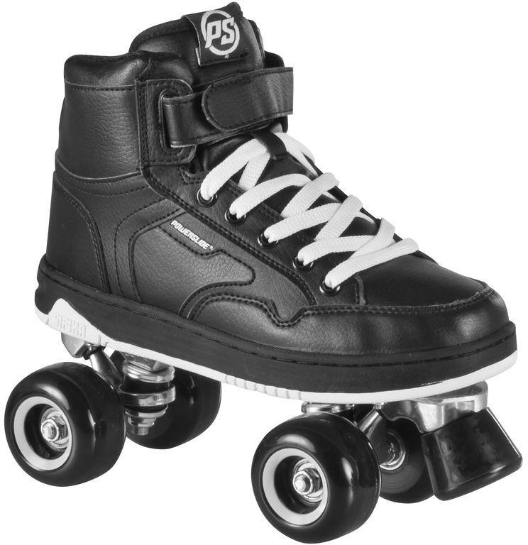 Powerslide Rollerskates, Unisex, »Player Black« in schwarz
