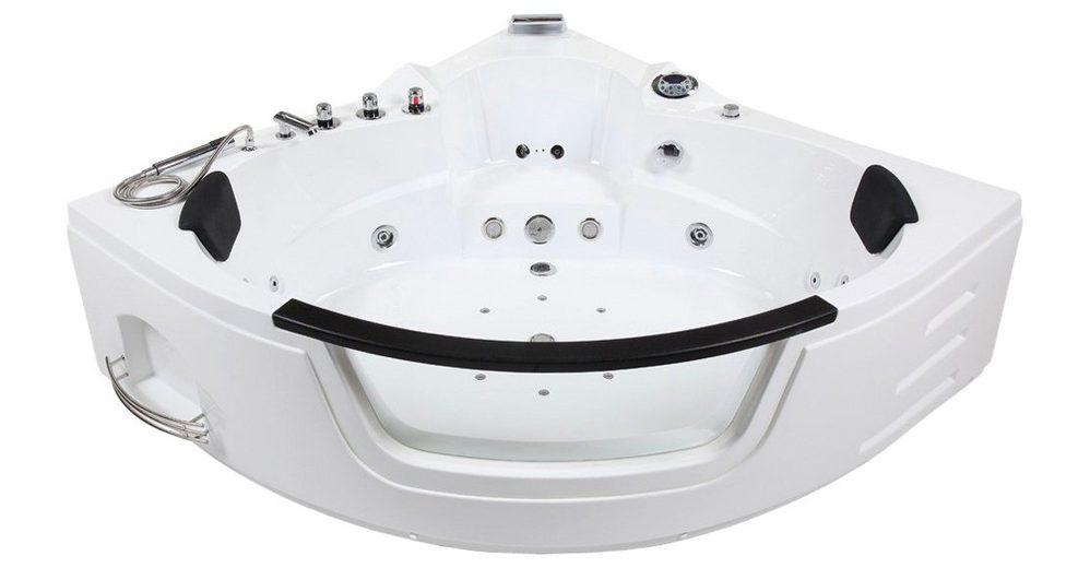 Komplett-Set: Whirlpoolwanne »White L Mini«, 135 cm