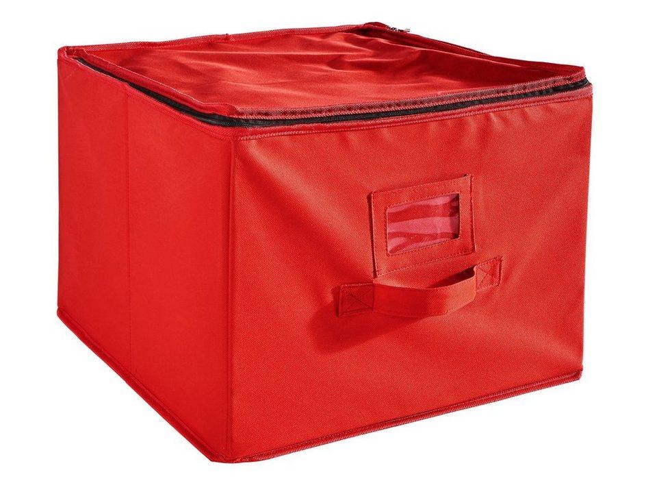 Kugelbox in rot