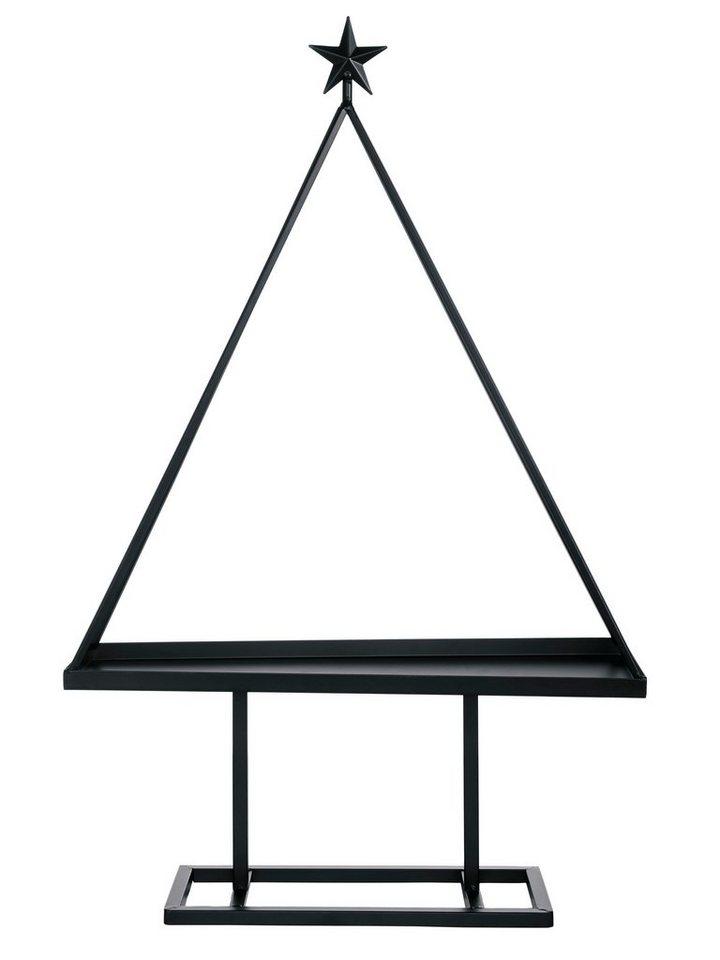 Metallbaum in schwarz