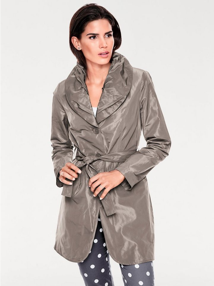 Trenchcoat in taupe