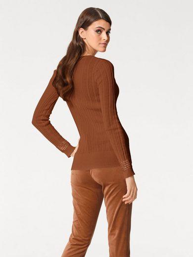 Patrizia Dini By Heine Short Sweater Fine Trick
