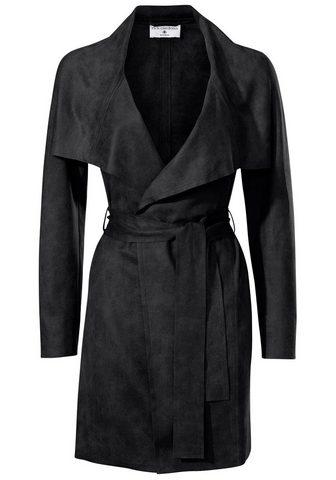 STYLE пальто из искусственной кожи с п...
