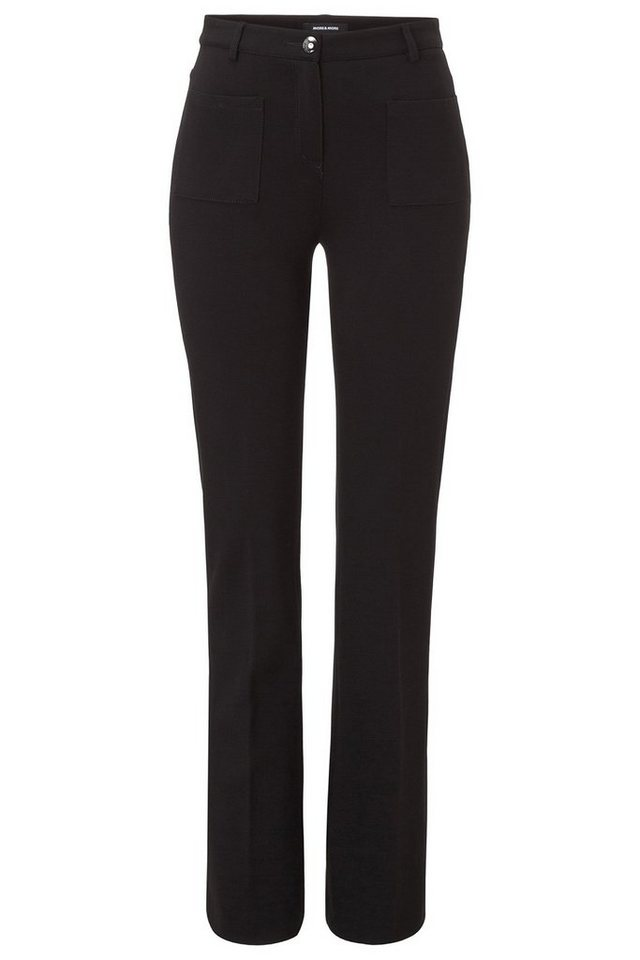 MORE&MORE High Waist Jerseyhose in schwarz