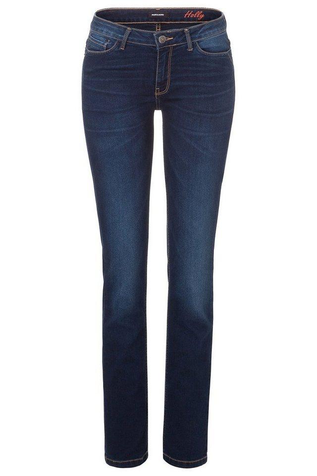 MORE&MORE Jeans, Five-Pocket in denim