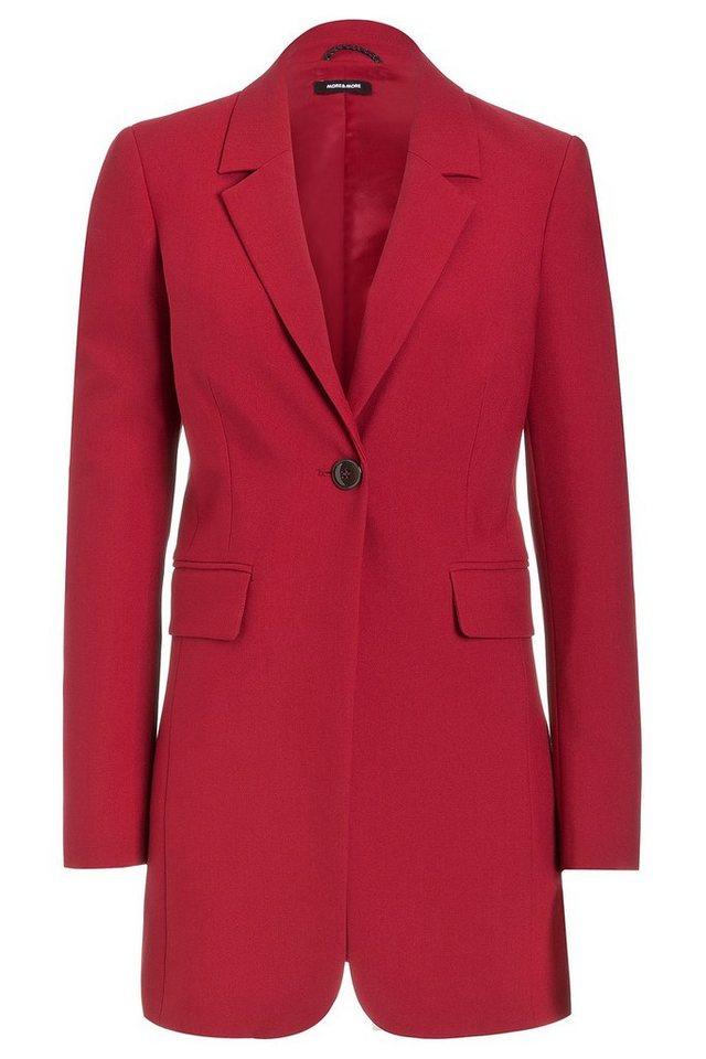 MORE&MORE Long-Blazer in rot