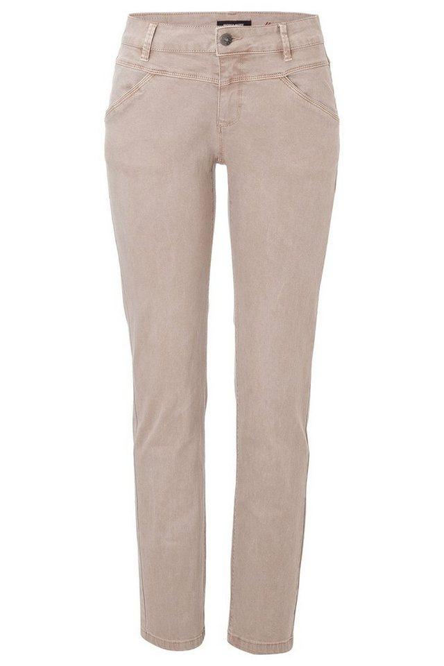 MORE&MORE beige Jeans in ecru