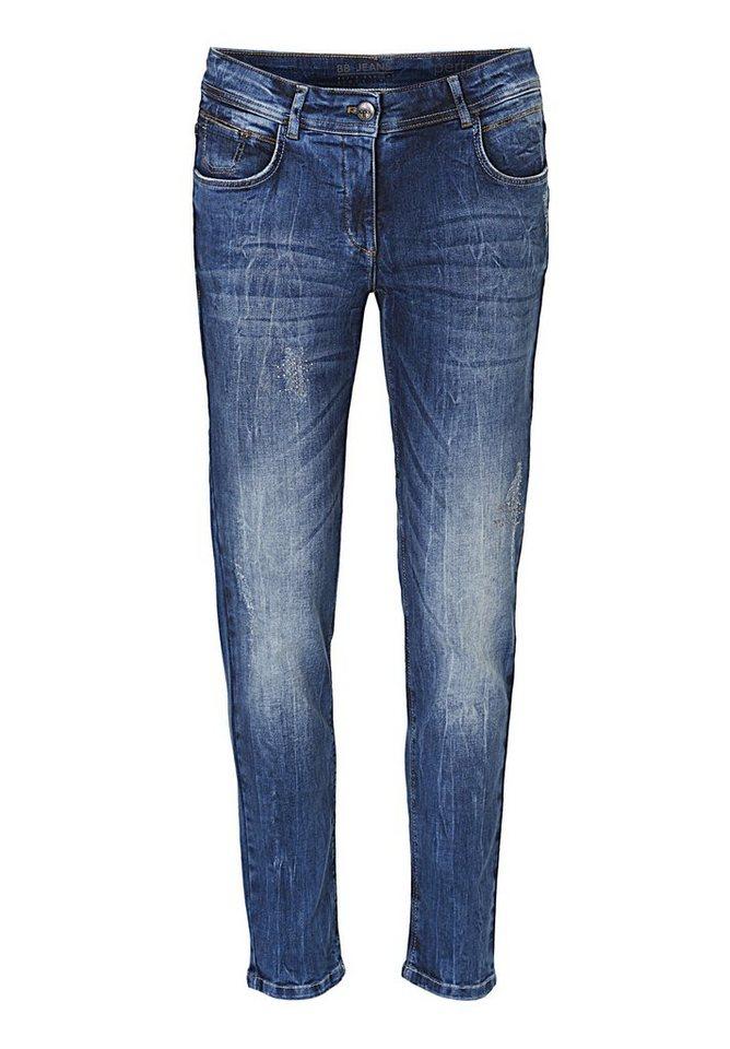 Betty Barclay Jeans in Blau - Bunt