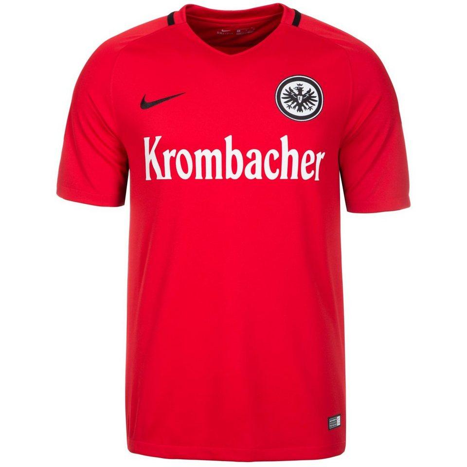 NIKE Eintracht Frankfurt Trikot Away 2016/2017 Herren in rot / schwarz