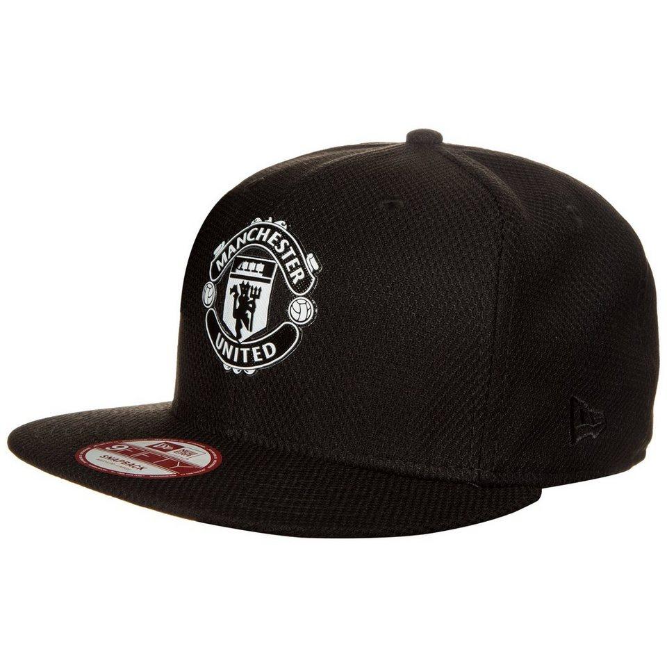 New Era 9FIFTY Diamond Era Manchester United Snapback Cap in schwarz