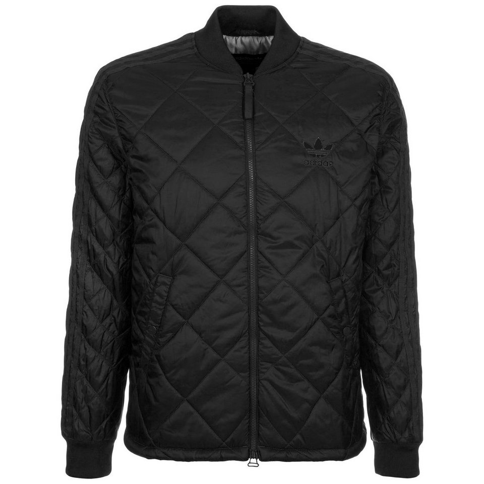 adidas Originals Quilted Superstar Jacke Herren in schwarz