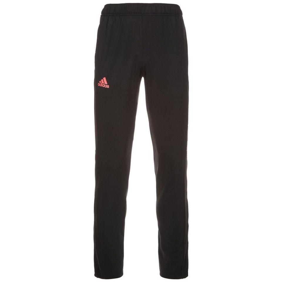 adidas Performance Barricade Tennishose Herren in schwarz / neonrot