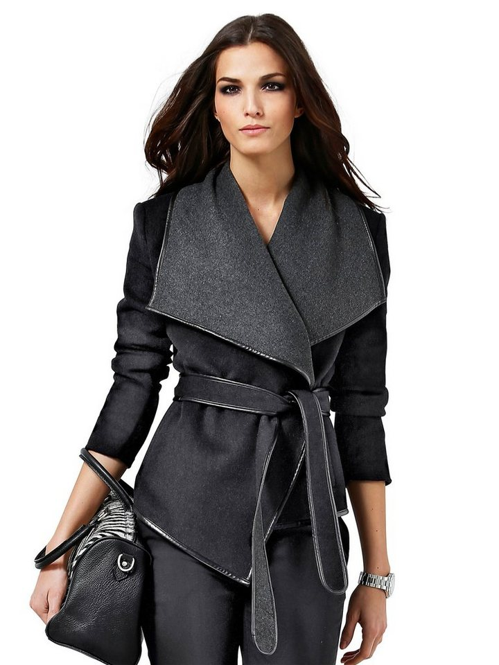 Alba Moda Jacke in schwarz