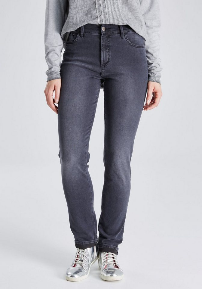 PIONEER Jeans »KATE« in grey denim