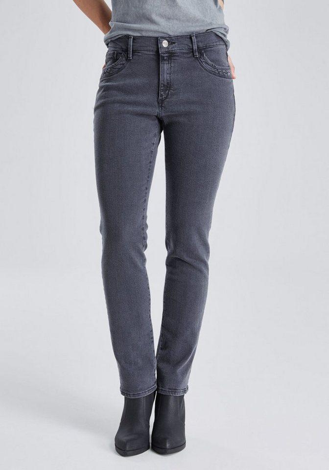 PIONEER Jeans »KATE« in grey denim