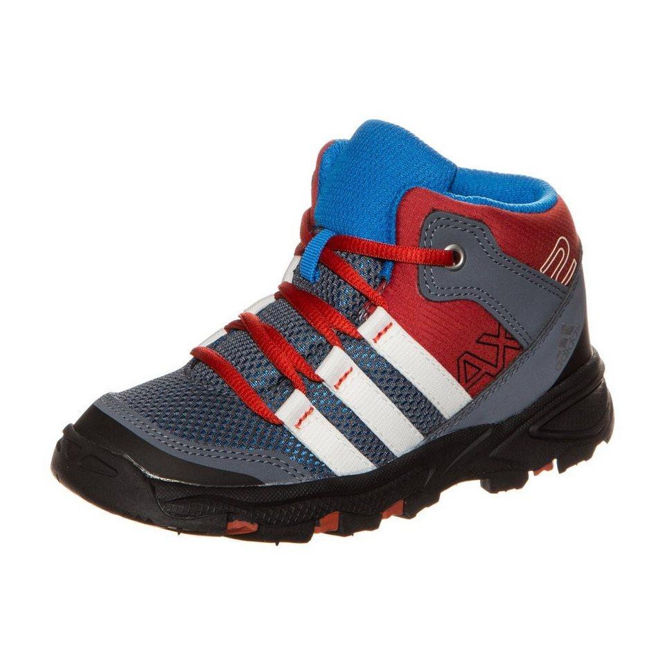 adidas Performance AX2 Mid Outdoorschuh Kleinkinder in grau / rot / blau