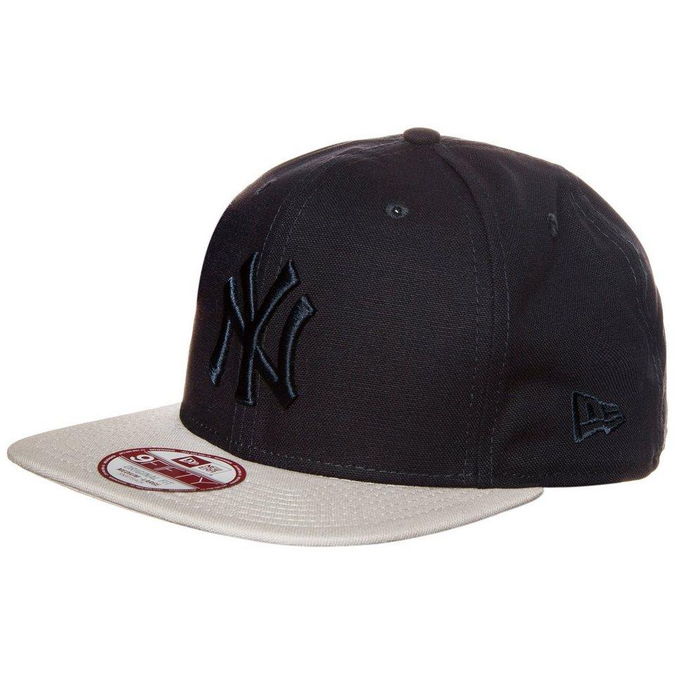 New Era 9FIFTY MLB Crafted Classic New York Yankees Cap in dunkelblau / beige