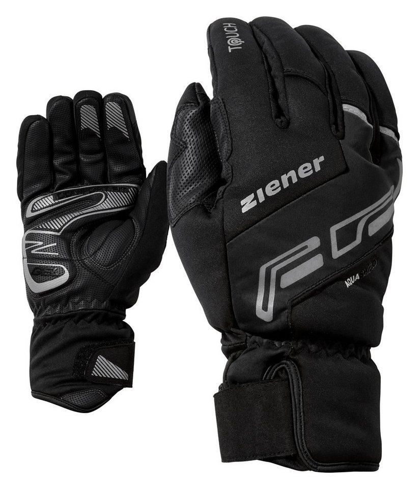 Ziener Handschuh »DALE AS(R) TOUCH Bike glove« in black