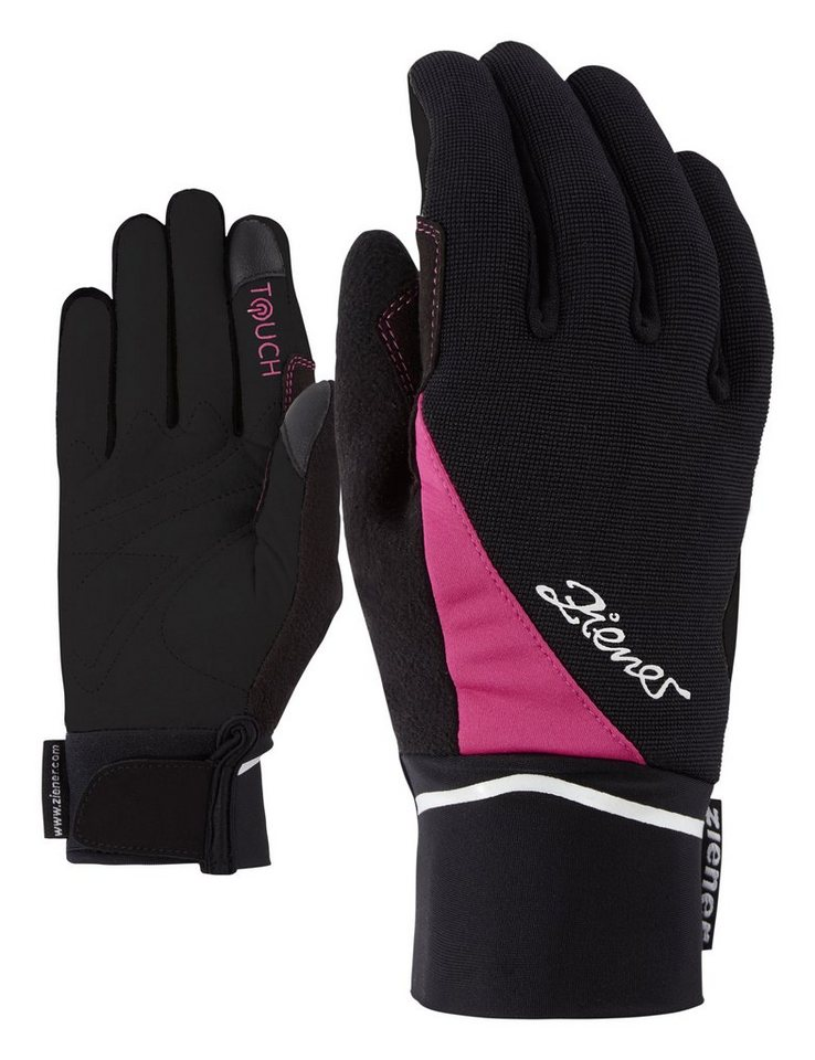 Ziener Handschuh »ULINE TOUCH LADY glove crosscountry« in pop pink