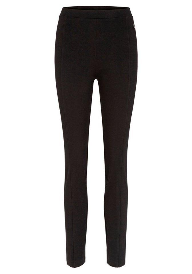 Hajo Basic Hose in schwarz